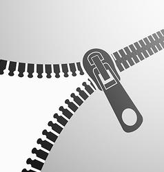 zipper background Stock vector image