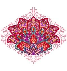 Indian ethnic ornament hand drawn decorative vector