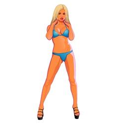 Woman Sexy vector image
