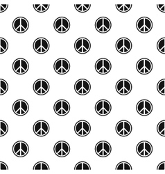 Peace sign pattern simple style vector