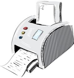 Print device vector image
