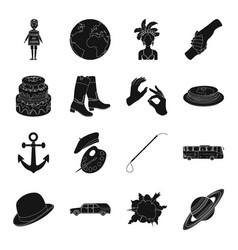 Astronomy food dessert and other web icon in vector