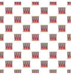 bass drum pattern seamless vector image