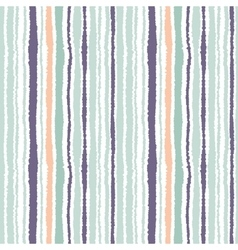 Seamless strip pattern vertical lines with torn vector
