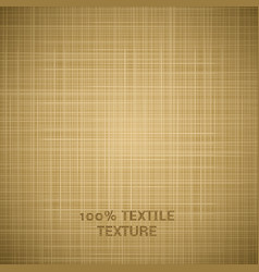 Beige cloth texture background vector