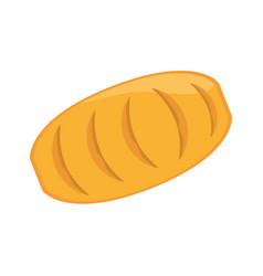 bread food bakery ingredient vector image