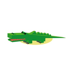 Icon alligator vector
