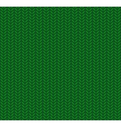 Knitted seamless pattern green vector