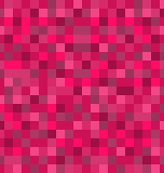 Abstract mosaic seamless pattern background in red vector