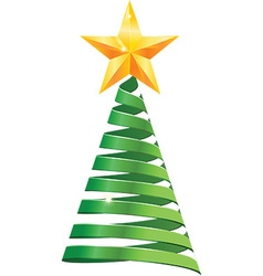 Chistmas tree vector image vector image