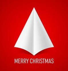 Merry christmas corner paper 07 vector