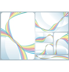 Rainbow Flowing vector image
