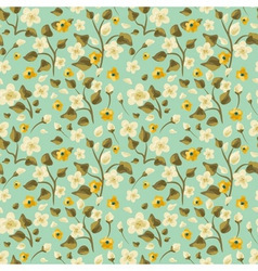 Flora seamless pattern vector