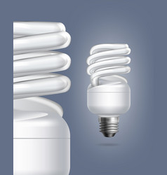 Fluorescent lamps vector