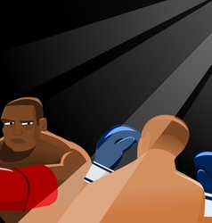 In The Ring vector image
