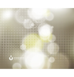 Abstract Background with Sunlight Glow vector image
