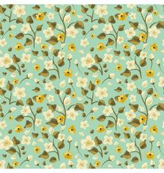 Flora Seamless Pattern vector image