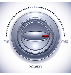 Power knob with calibration vector