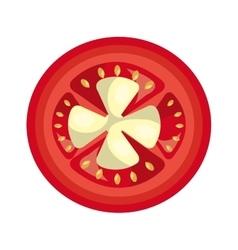 Vegetable healthy food icon vector