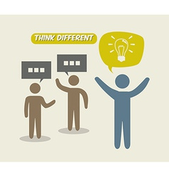 Think different vector
