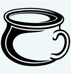 Gutbucket pot vector image
