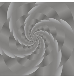 Grey spiral background fractal pattern vector