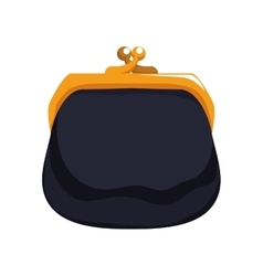 Coin purse icon money design graphic vector