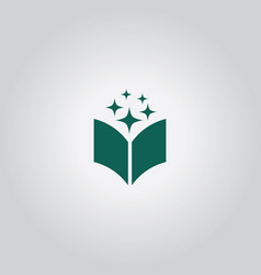 Book education logo vector