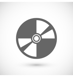 Compact disk icon vector image vector image