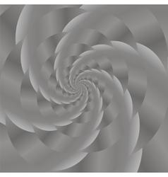 Grey spiral background fractal pattern vector