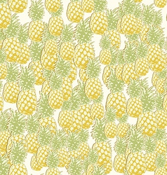 Pineapple3 vector image vector image