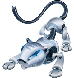 RoboTiger vector image