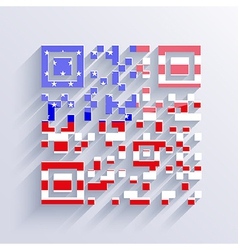 usa flag background Eps10 vector image