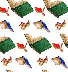 Book pattern2 vector image