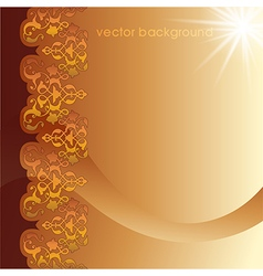 Decorative cover template six vector