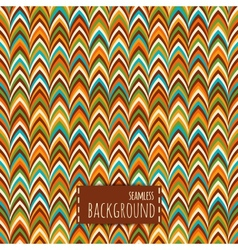 Colorful seamless pattern geometric background vector image