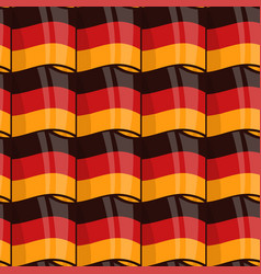 german flag seamless wrapping pattern vector image