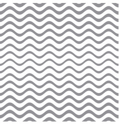 seamless gradient wavy line pattern vector image vector image