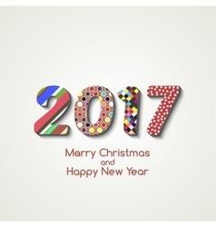 Happy new year 2017 background calendar vector