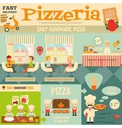 Pizzeria vector