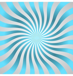 Blue rays poster star shine wavy vector image
