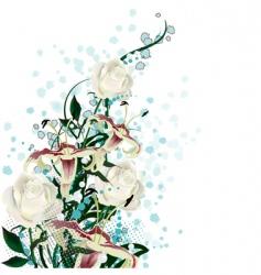 bridal bouquet vector image