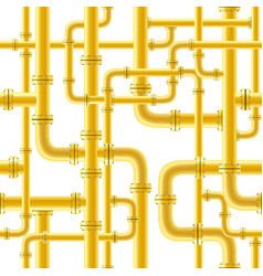 yellow pipe seamless vector image