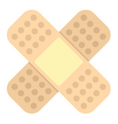 Medicine flat patch isolated on white background vector