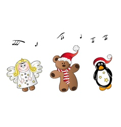 Christmas song vector