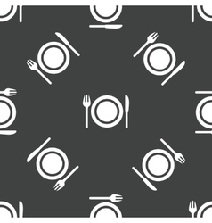 Dishware pattern vector
