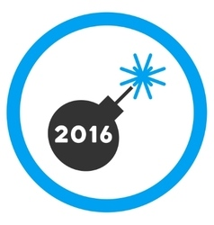 2016 petard icon vector