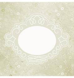 Valentine elegant card vector image