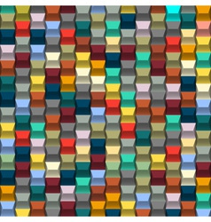 Colorful background with blocks structure vector
