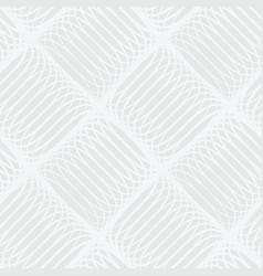 abstract white and gray seamless pattern of lines vector image